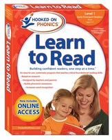 Simon & Schuster Level 1 Hooked On Phonics Learn To Read.