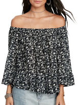Denim & Supply Ralph Lauren Floral Off-the-Shoulder Blouse