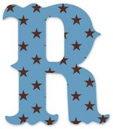 "Wall Candy Arts WallCandy Arts WallCandy Luv Letters Stars Letter ""R"" Wall Decal in Blue"