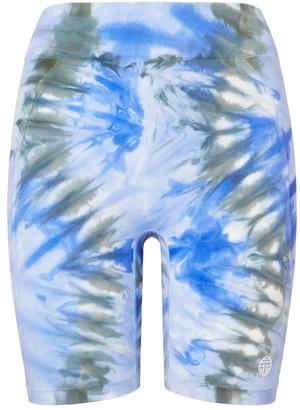 Tory Burch Tie-Dye Seamless Bike Shorts