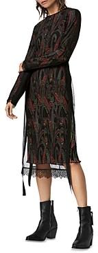 AllSaints Kiara Ossia Paisley Print Dress
