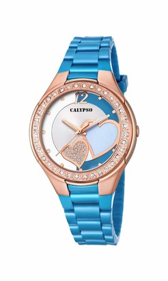 Calypso Women's Analogue Analog Quartz Watch with Plastic Strap K5679/N