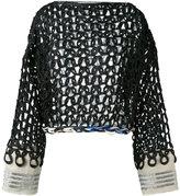 Aviu open knit jumper - women - Cotton/Polyamide/Polyester/Viscose - 40