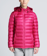 Violet Red 3.0 Down Insulated Hooded Puffer Coat - Women