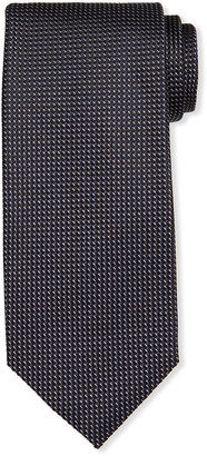 Tom Ford Men's Micro-Pattern Mulberry Silk Tie