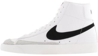 Nike Blazer 77 Vintage Hi Top Trainers White