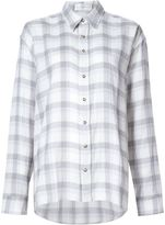 Faith Connexion checked shirt - women - Cotton/Linen/Flax/Ramie - S