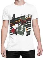 Star Wars Mens' T-Shirt Boba Fett