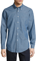 Brooks Brothers Cotton Solid Chambray Sportshirt