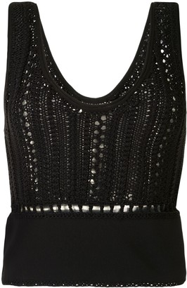3.1 Phillip Lim Hand Crochet Tank Top