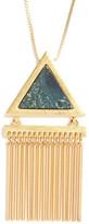 Madewell Stone Fringe Pendant Necklace
