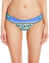 Trina Turk Women's Shangri La Shirred-Side Hipster Bikini Bottom