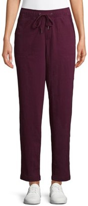 Time and Tru Women's Pull on Knit Drawstring Pants