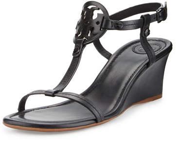Tory Burch Miller Logo 60mm Wedge Sandal