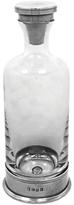 English Pewter Company Vogue Ambassador Glass Decanter, 750ml