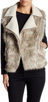 Cejon Faux Fur Reversible Vest