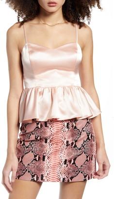 Endless Rose Peplum Camisole