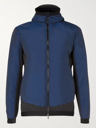Predator Quilted Wool-Blend And Shell Ski Jacket