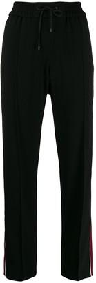 Kenzo contrast stripe trousers