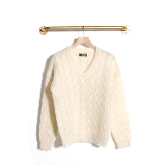 Le Mont Saint Michel - Santine mohair sweater Off white - m | Mohair | off white - Off white