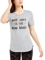 Hybrid Love Tribe Juniors' Self Care Graphic T-Shirt