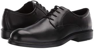 Ecco Vitrus III Plain Toe Tie (Black) Men's Shoes