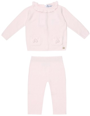 Tartine et Chocolat Baby cotton-blend jacket and pants set
