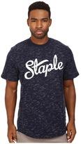 Staple Indigo Logo Crew Neck