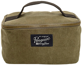 Original Penguin Waxed Canvas Dopp Kit Wash Bag, Olive