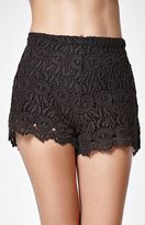 Billabong Heavenly Skies Crochet Shorts