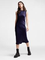 DKNY Satin Midi Dress