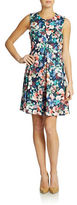 Ali Ro Pleated Floral Dress