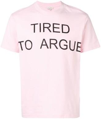 Natasha Zinko TRIED TO ARGUE oversized T-shirt