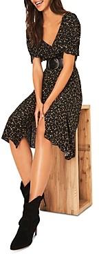Thumbnail for your product : BA&SH ba & sh Eden Printed Wrap Dress