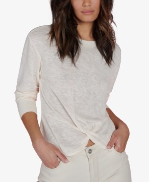 Sanctuary Knotted Long-Sleeve T-Shirt