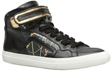 Pierre Hardy Mother Of Pearl X High top sneaker