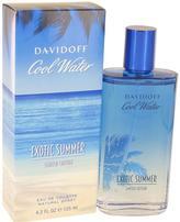 Davidoff Cool Water Exotic Summer Eau De Toilette Spray for Men (4.2 oz/124 ml)