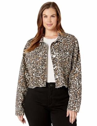 Volcom Women's Super Stoney Plus Size Denim Jacket