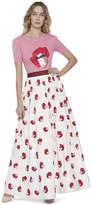 Alice + Olivia Ao X Donald Tina Embellished Ball Gown Skirt