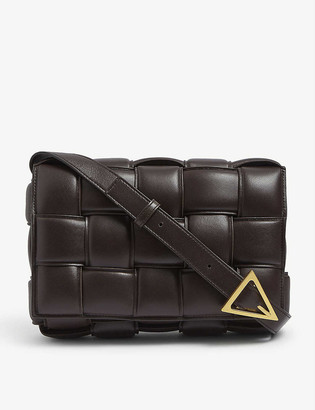 Bottega Veneta Cassette Intrecciato padded leather cross-body bag