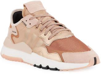 adidas Nite Jogger Metallic Running Sneakers