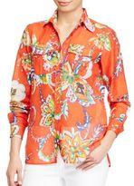 Lauren Ralph Lauren Cotton-Silk Voile Shirt