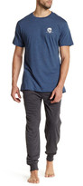 Lucky Brand Short Sleeve Crew Neck & Jogger Pant Gift Set