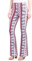 Juniors Printed Flare Pants