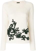 Etro crew neck jumper - women - Acrylic/Polyester/Viscose/Wool - 40