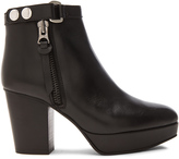 Acne Studios Orbit Leather Booties