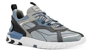 Geox Men's Grecale Suede High Top Sneakers
