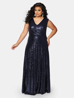 Sydney's Closet City Lights Sequin Gown