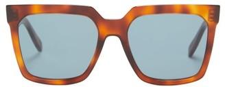 Celine Square Acetate Sunglasses - Tortoiseshell