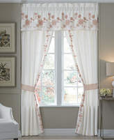 "Croscill Fiona Cotton 72"" x 18"" Tailored Window Valance"